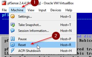 Instale a maneira mais fácil do pfSense 2.4.4